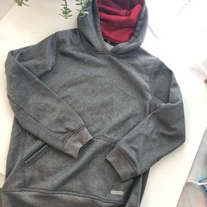 Boys gray Tek Gear hoodie 10/12 medium.
